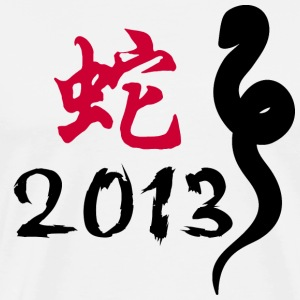 Year of The Snake T-Shirt 2013 - Men's Premium T-Shirt