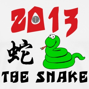 Funny Year of The Snake 2013 T-Shirt - Men's Premium T-Shirt