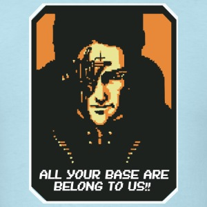 All your base are belong to us!! T-Shirts - Men's T-Shirt