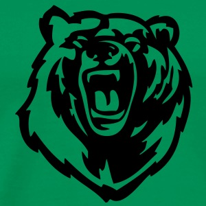 Grizzly Bear VECTOR T-Shirts - Men's Premium T-Shirt