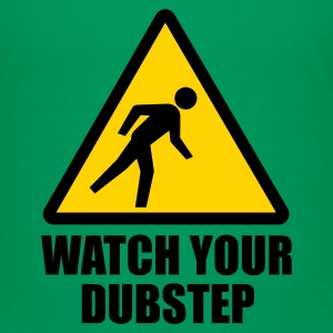 Watch your Dubstep 2c Kids' Shirts - Kids' Premium T-Shirt