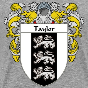 Taylor Coat of Arms/Family Crest - Men's Premium T-Shirt