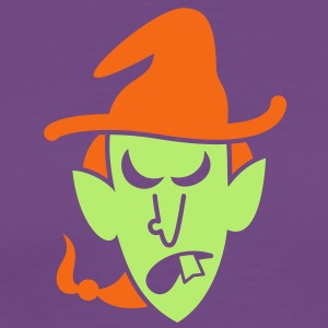 Angry Halloween Witch T-Shirts - Men's Premium T-Shirt