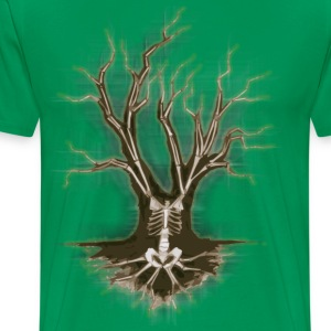 Bone Tree xl - Men's Premium T-Shirt