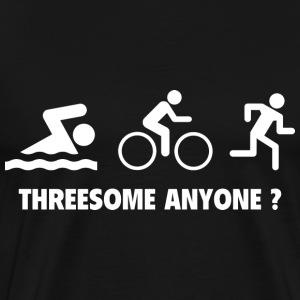 Threesome ? - Men's Premium T-Shirt