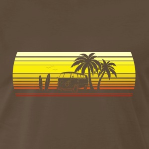 Hippie beach - Men's Premium T-Shirt
