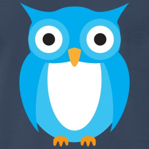 Blue Owl T-Shirts - Men's Premium T-Shirt