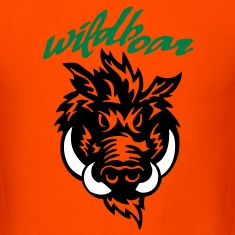 wildboar__face_on_light T-Shirts