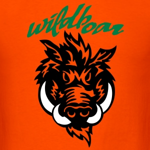 wildboar__face_on_light T-Shirts - Men's T-Shirt