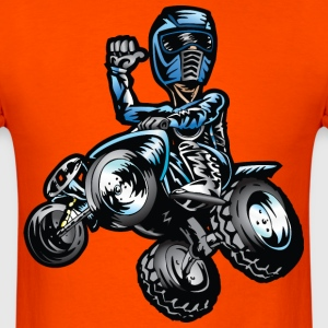Blue Freestyle Quad T-Shirts - Men's T-Shirt