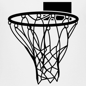 Basketball or Netball hoop net Baby & Toddler Shirts - Toddler Premium T-Shirt