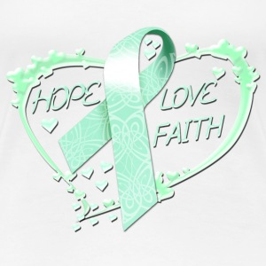 Hope Love Faith Women's T-Shirts - Women's Premium T-Shirt