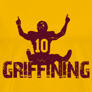 Design ~ Griffining Shirt on Gold