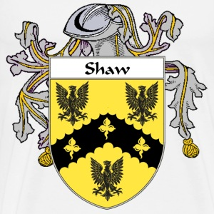 Shaw Coat of Arms/Family Crest - Men's Premium T-Shirt