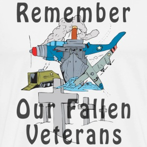 Veterans Day T-Shirt - Men's Premium T-Shirt