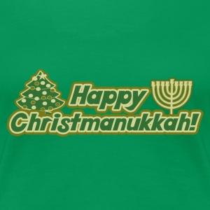 Happy Christmanukkah - Women's Premium T-Shirt