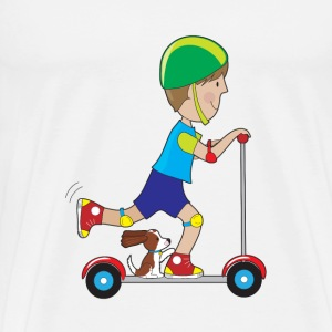Scooter Boy - Men's Premium T-Shirt