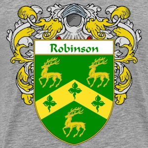 Robinson Coat of Arms/Family Crest - Men's Premium T-Shirt