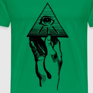 hand and eye T-Shirts - Men's Premium T-Shirt