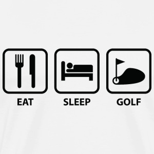 Eat Sleep Golf - Men's Premium T-Shirt