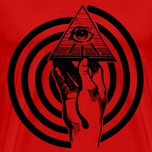 hand_and_eye_hypno T-Shirts - Men's Premium T-Shirt