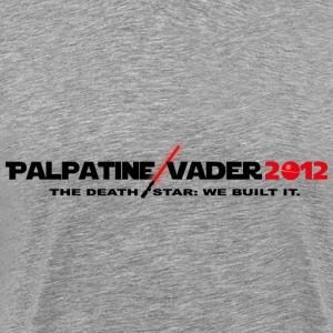 Palpatine/Vader We Built It - Men's Premium T-Shirt