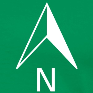 North Arrow T-Shirt - Men's Premium T-Shirt