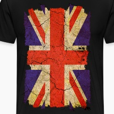 Grunge Union Jack UK Flag T-Shirts