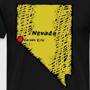 Nevada - Men's Premium T-Shirt
