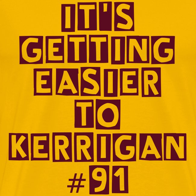 Redskins Kerrigan Gold T Shirt