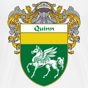 Quinn Coat of Arms/Family Crest - Men's Premium T-Shirt