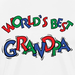 World's Best Grandpa T-Shirt - Men's Premium T-Shirt