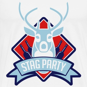 Stag Party 1 (3c)++ T-Shirts - Men's Premium T-Shirt