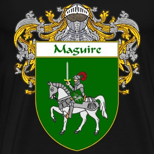 Maguire Coat of Arms/Family Crest - Men's Premium T-Shirt
