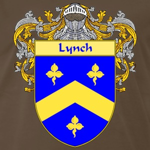 Lynch Coat of Arms/Family Crest - Men's Premium T-Shirt