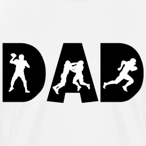 Football Dad T-Shirt - Men's Premium T-Shirt