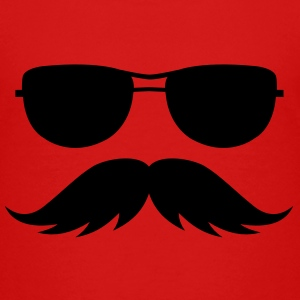 sunglasses and mustache Baby & Toddler Shirts - Toddler Premium T-Shirt