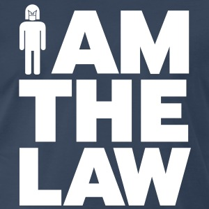 I am the Law - Men's Premium T-Shirt
