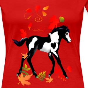 Autumn Paint - Women's Premium T-Shirt