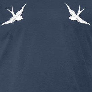 Tattoo Swallow - Men's Premium T-Shirt