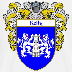 Kelly Coat of Arms/Family Crest - Men's Premium T-Shirt
