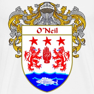 O'Neil Coat of Arms/Family Crest - Men's Premium T-Shirt