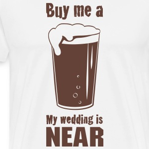 Buy Me a Beer - Men's Premium T-Shirt