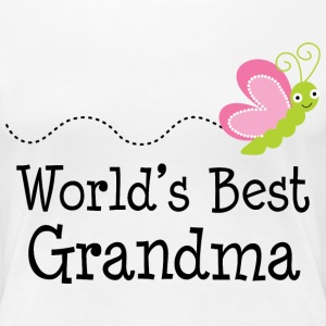 World's Best Grandma Women's T-Shirts - Women's Premium T-Shirt