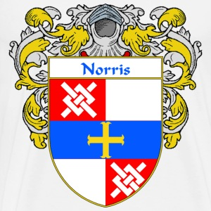 Norris Coat of Arms/Family Crest - Men's Premium T-Shirt