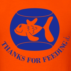 Thanks_for_feeding_dit T-Shirts - Men's T-Shirt