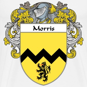 Morris Coat of Arms/Family Crest - Men's Premium T-Shirt