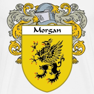Morgan Coat of Arms/Family Crest - Men's Premium T-Shirt