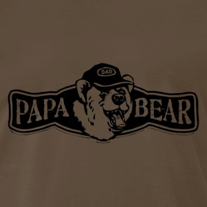 Papa Bear logo - Men's Premium T-Shirt