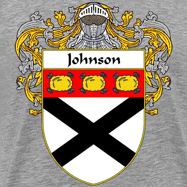 Johnson Coat of Arms/Family Crest | Men's Premium T-Shirt